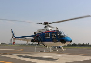 helicopter aerial shoot